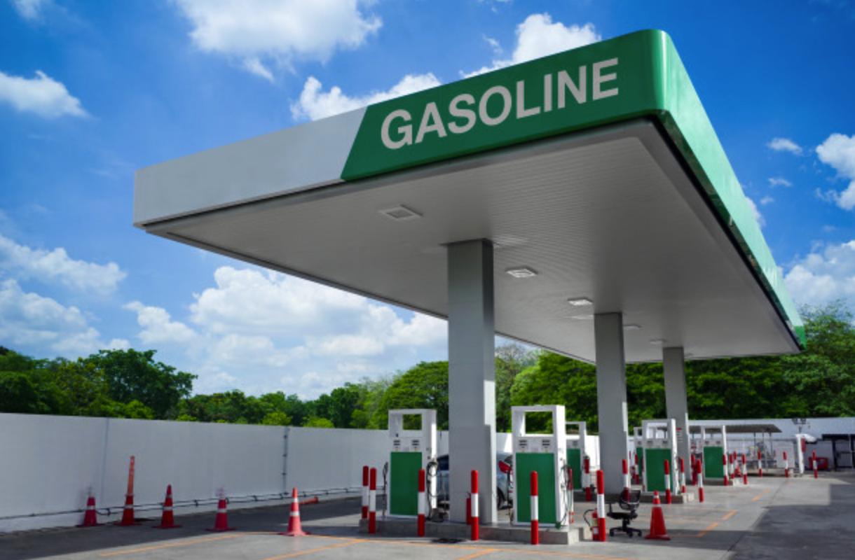 Posto de gasolina sem bandeira